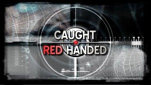 Caught Red Handed Logo
