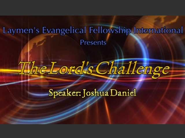 The Lord's Challenge