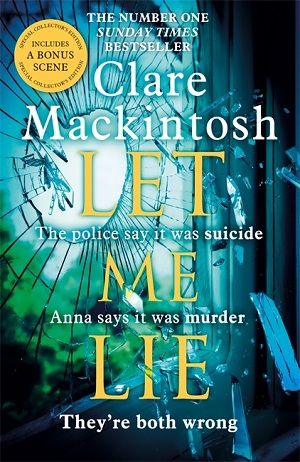 Clare Mackintosh LET-ME-LIE flat
